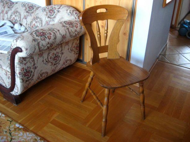 3 szt. Drewniane Krzesło Krzesła