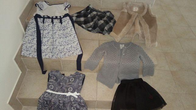Roupa, acessórios e calçado