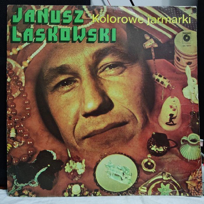 Janusz Laskowski - Kolorowe Jarmarki - winyl - stan: VG+/EX- Włoszczowa - image 1
