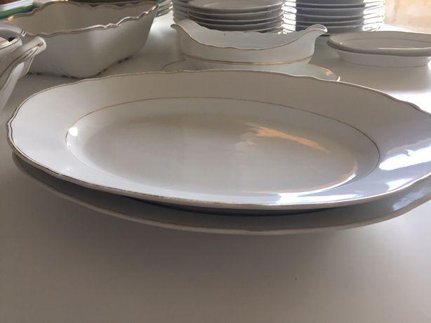 Serviço de jantar antigo - louça SP Coimbra - porcelana