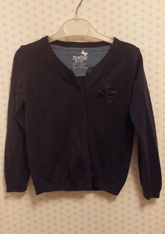 Sweterek sweter rozpinany dla dziewczynki Lupilu 86/92
