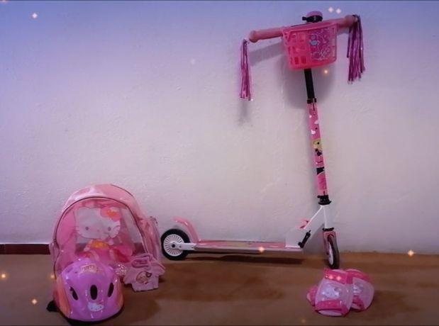 Scooter infantil de chute, de 2 rodas, dobrável