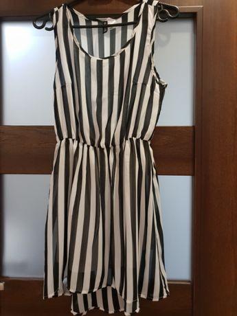 H&M sukienka w paski r. S jak NOWA !