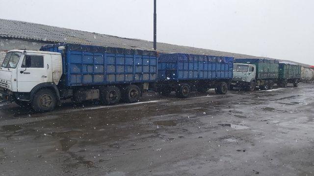 Срочная распродажа Камазов-5320 с прицепами