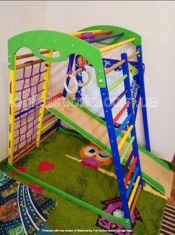 Горка, игровая площадка, детский спортивный комплекс, качели, уголок