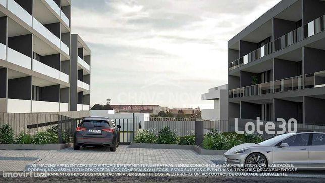 T2 - Sul - garagem 2 carros e terraço (23m2) - Madalena