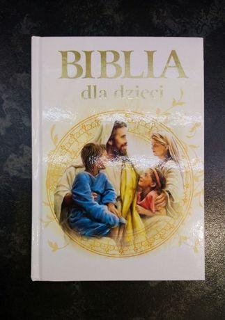 Biblia dla dzieci przedszkolaków w obrazkach dla najmłodszych książka