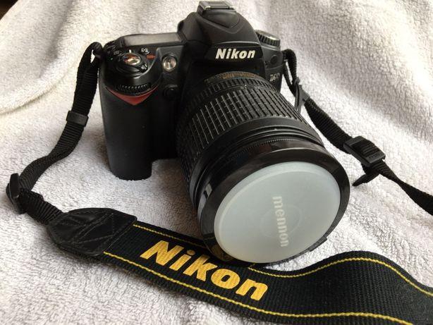 Nikon D90, plecak, torba akcesoria. Bogato.