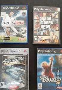 Jogos de consola Ps2