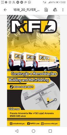 Fazemos todo o tipo de remodelaçoes e construçao na zona do Algarve