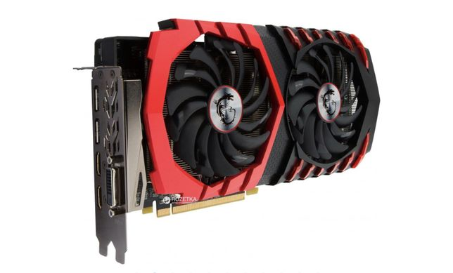 Видеокарта MSI RX 480 Gaming X 8Gb