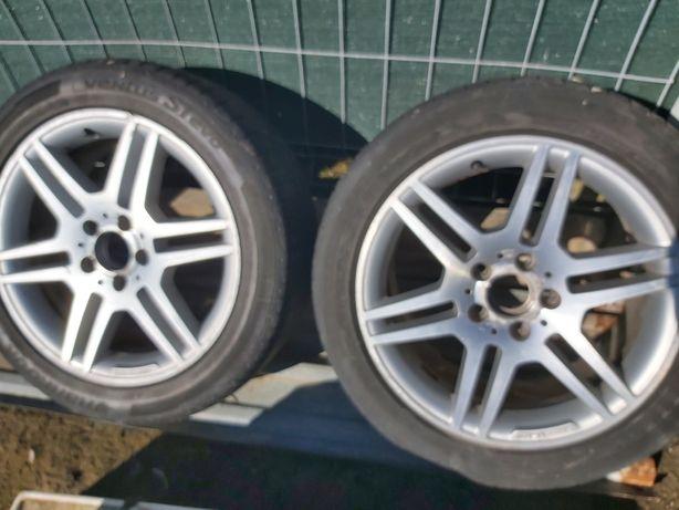 Felgi aluminiowe Mercedes 17 AMG