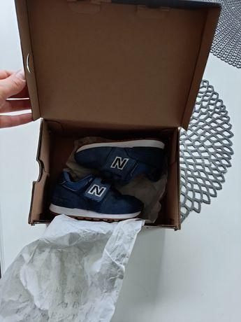Buty new balance 14,5 cm roz 23 chłopięce niebieskie