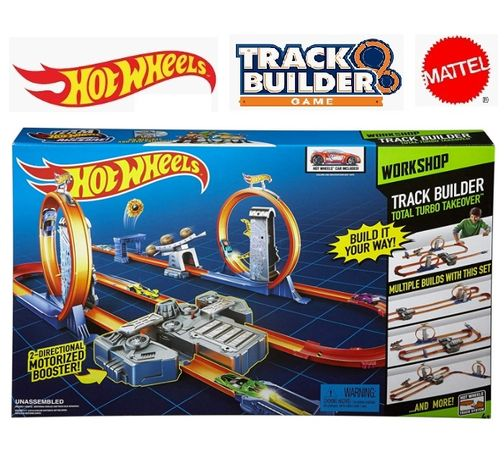 Mattel Hot Wheels Total Turbo Takeover Track Set BGX89 Хот Вілс