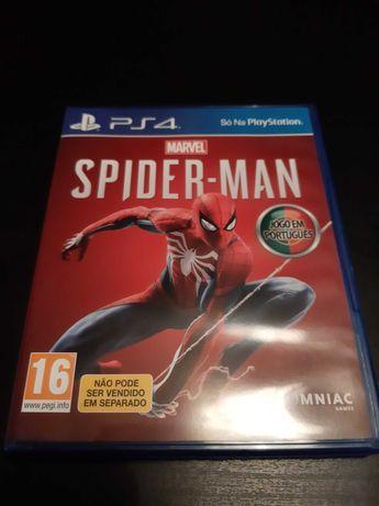 Vendo jogo spider man ps4