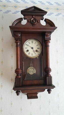 Stara antyczna miniaturka zegara junghans