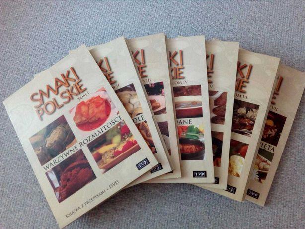 Kolekcja DVD Smaki Polskie, 7 tomów