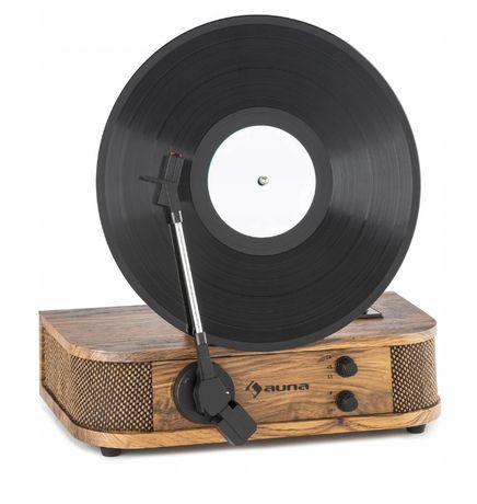Gramofon retro AUNA Verticalo S