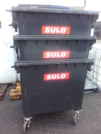 .pojemnik kosz na odpady śmieci 1100l wysyłka