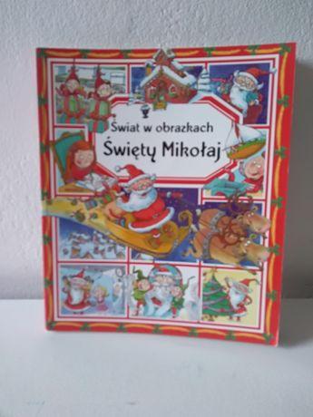 Świat w obrazkach święty Mikołaj książka o świętach