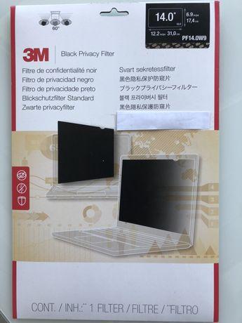 3m Filtr prywatyzujacy 14.0 16:9 czarny (PF14.0W9)