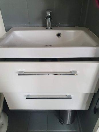 Zestaw Umywalkowy Bateria Szafka Umywalka