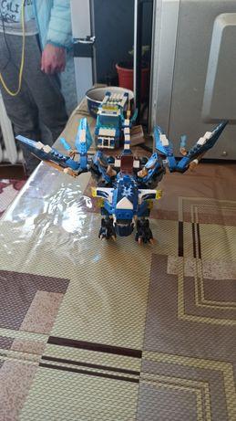 Огромный коллекционный дракон Джея из Лего