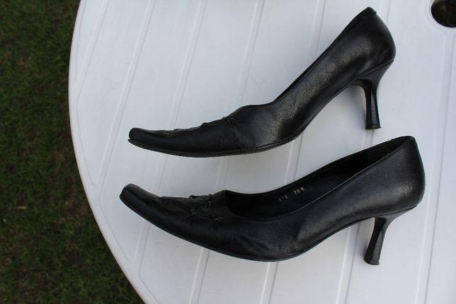 skórzane buty czółenka rozmiar 41