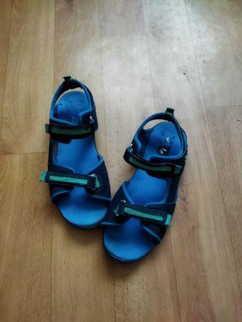 Сандали adidas, босоножки подростку стелька 25,5см