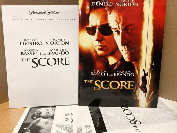 """""""The Score"""" De Niro, Norton, Brando - pakiet promo - zdjecia / kadry"""