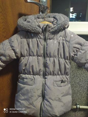 Зимова куртка для дівчінки