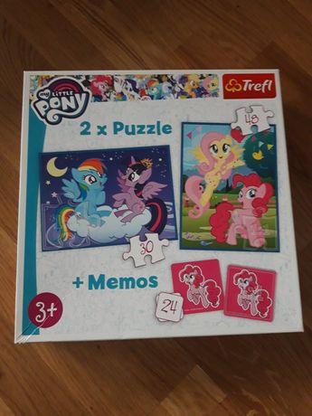Puzzle 3+  kucyki pony