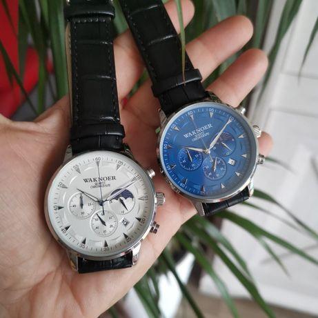 Zegarek męski Waknoer Chronograf, rewelacyjna jakość, żadnych atrap!