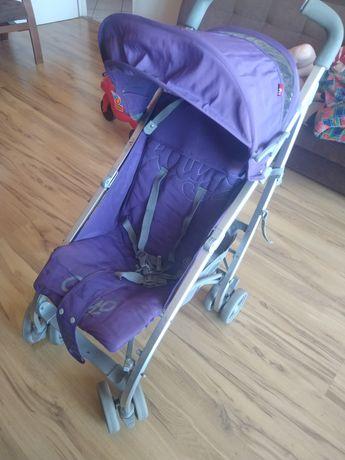 Wózek spacerowy fioletowy