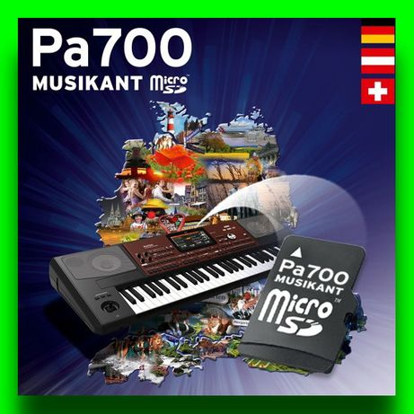 KORG PA700 Pakiet MUSIKANT style + brzmienia / karta SD / Sklep