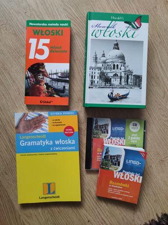 Książki do nauki języka włoskiego