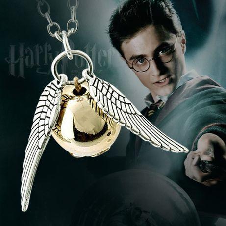 Кулон подвеска Золотой снич Гарри Поттер Harry Potter підвіска