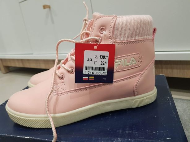 Fila nowe buty dla dziewczynki 33