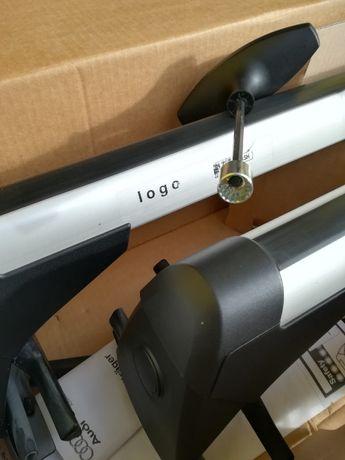 Barras de tejadilho/audi A4 B8 (novas)  nunca usadas e ainda na caixa