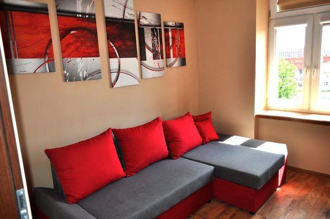 Mieszkanie na doby 2 pokoje Łódź Centrum, Noclegi, Kwatery, Dla 6 osób
