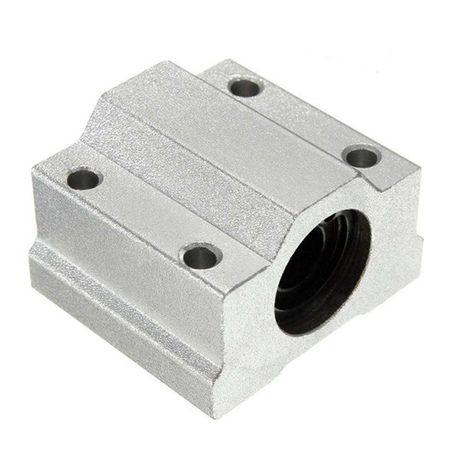 Casquilho / capsula alumínio rolamentos 8mm SC8UU
