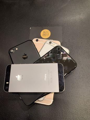 Apple iPhone 5C/5/5S/6/6S/7 Рассрочка Оригинал Магазин Гарантия