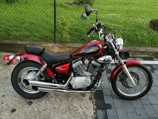 Yamaha virago 125 Głośne wydechy BSM ==> motor125 . PL