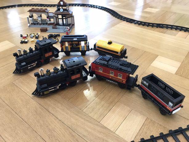 Железная дорога Лего Lego поезд два набора