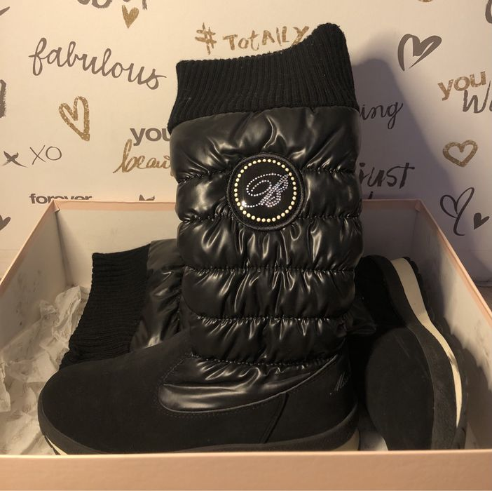 Зимние ботинки Miss Blumarine Киев - изображение 1
