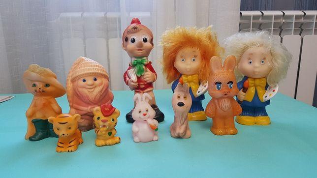 Резиновые игрушки СССР. Отличное состояние!