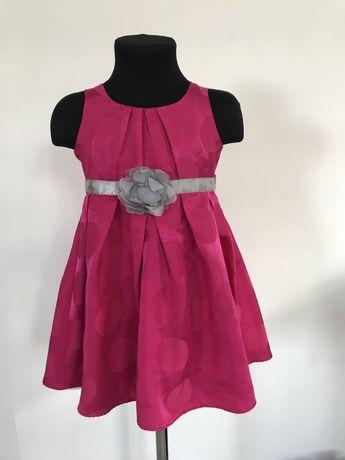 Детское нарядное платье george на девочку 2-3 года 92-98 рост