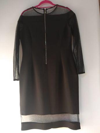 Sukienka elegancka czarna