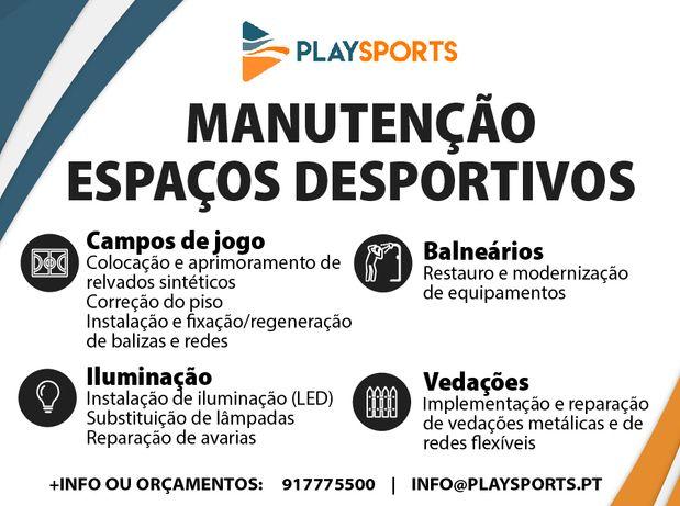 Manutenção Espaços Desportivos