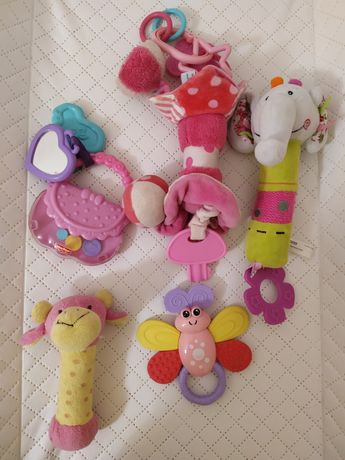 Zestaw zabawek dla dziewczynki Fischer Price Baby ono